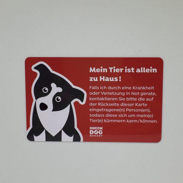 emergency card